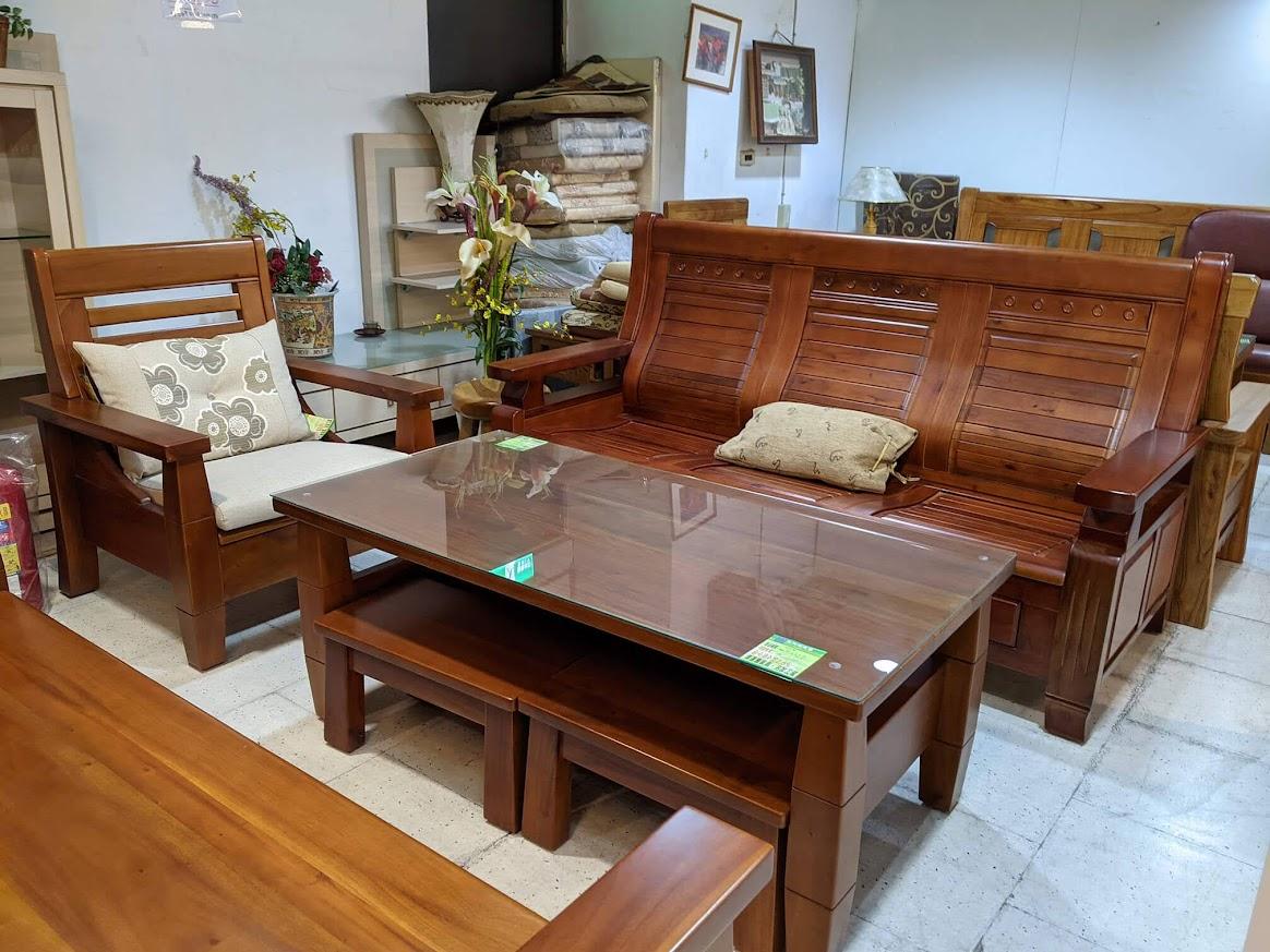 添興家具 中永和家具行推薦 實木沙發