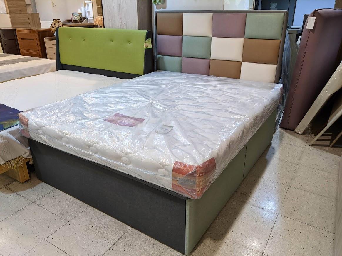 添興家具 貓抓皮床板 空間利用大師抽屜床