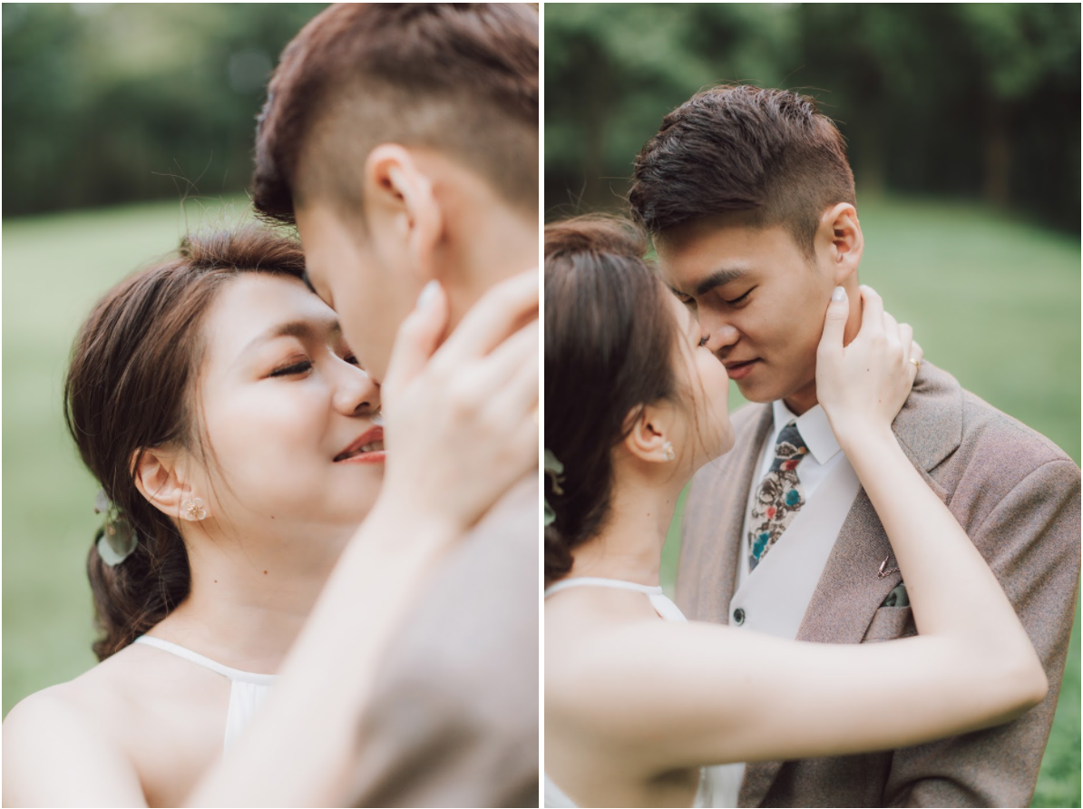 惠蓀林場婚紗 | Jeff + Emily Engagement | 森林系的美式逐光婚紗
