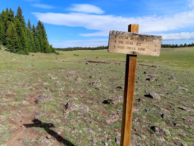 Fish Creek Trail signage