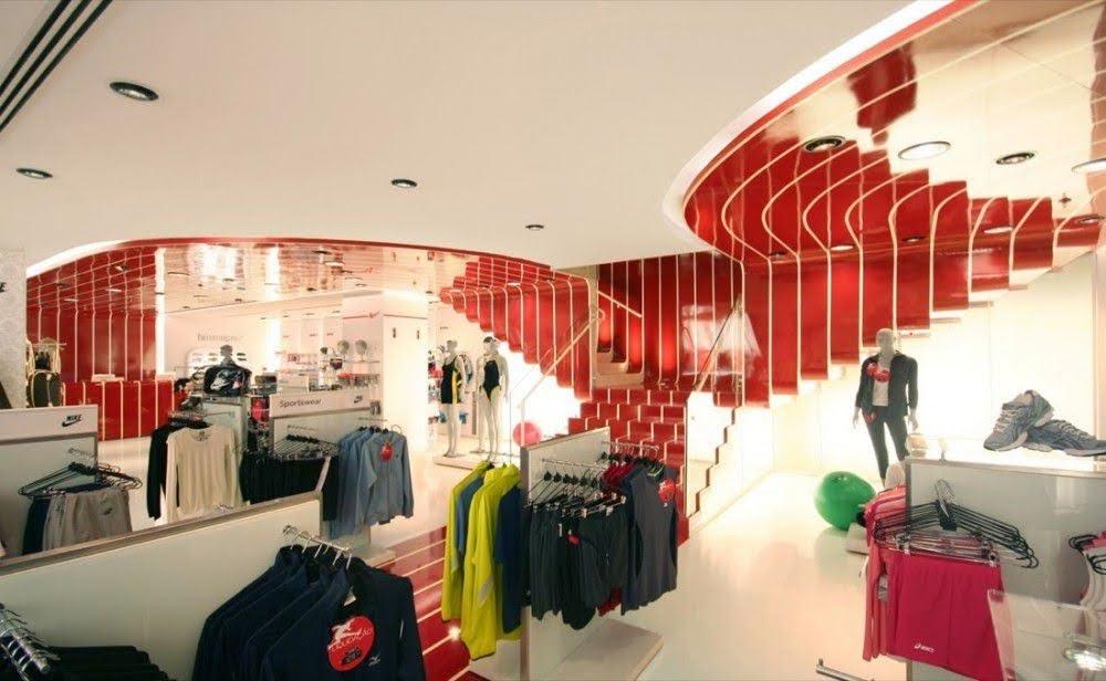 mẫu thiết kế shop thời trang cao cấp