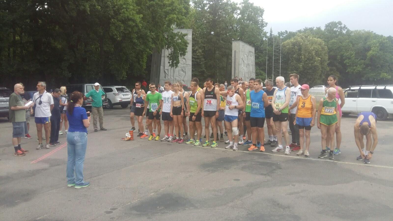 Фотографии. Пробіг «Кілометри скорботи», присвячений жертвам Великої Вітчизняної війни