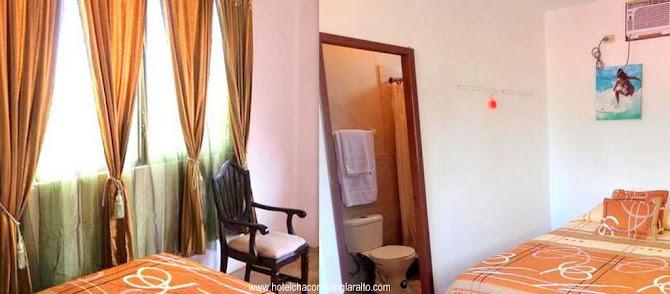 Habitaciones Dobles Hotel Chacon Manglaralto Ecuador