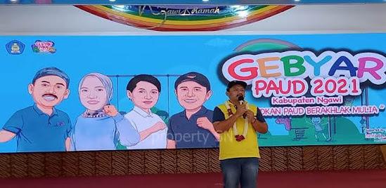 Gebyar PAUD 2021 Kabupaten Ngawi