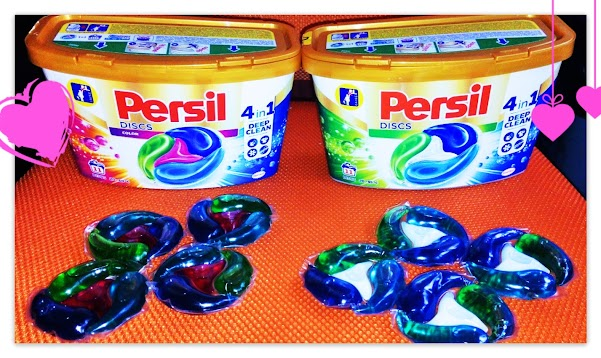 Testing the new Persil Discs 4 in 1