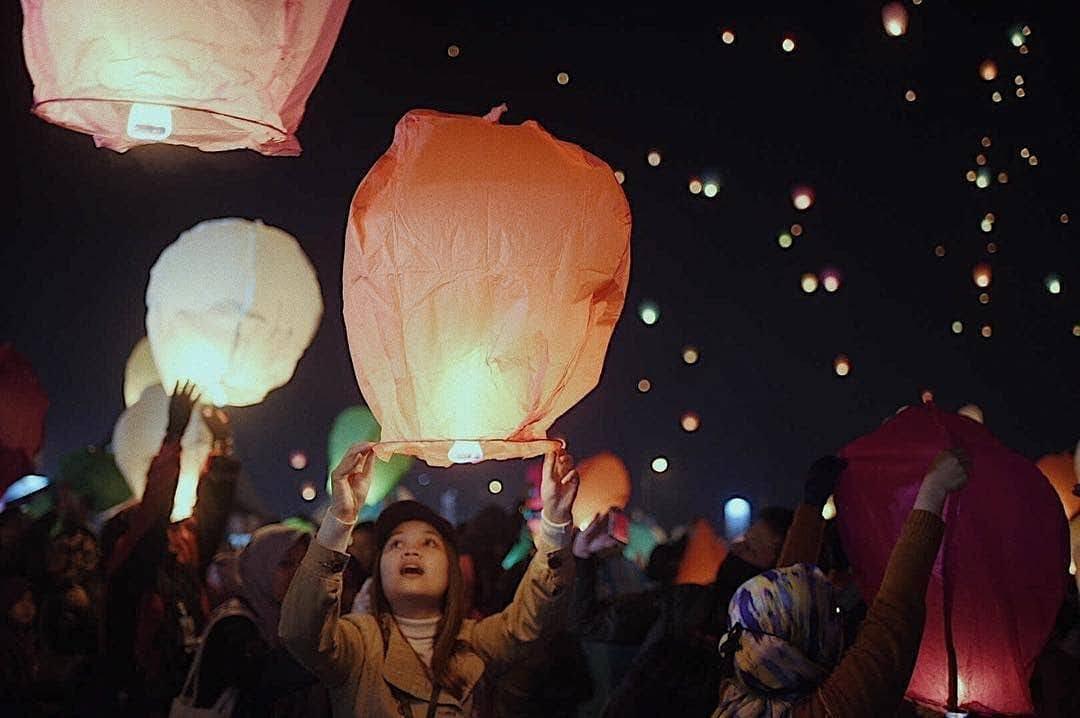Festival Lampion Dieng Culture Festival 2020