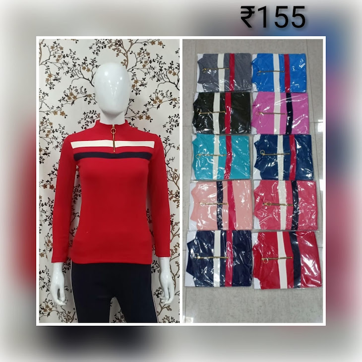 Full Sleeves Tops Ksp Girls Tshirt Manufacturer Wholesaler