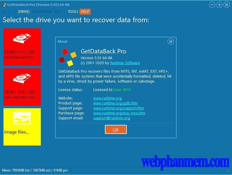 GetDataBack Free Download