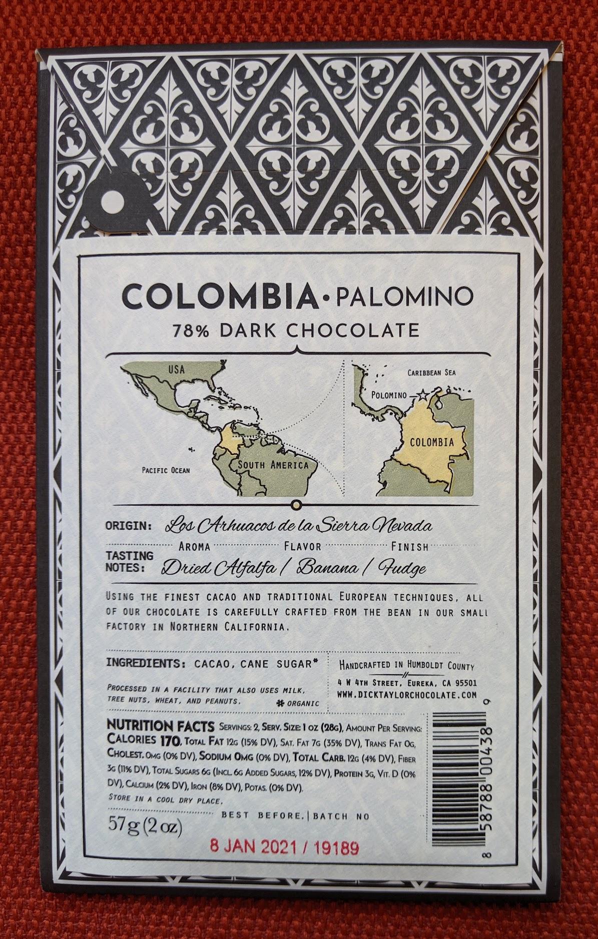78% dick taylor colombia palomino bar