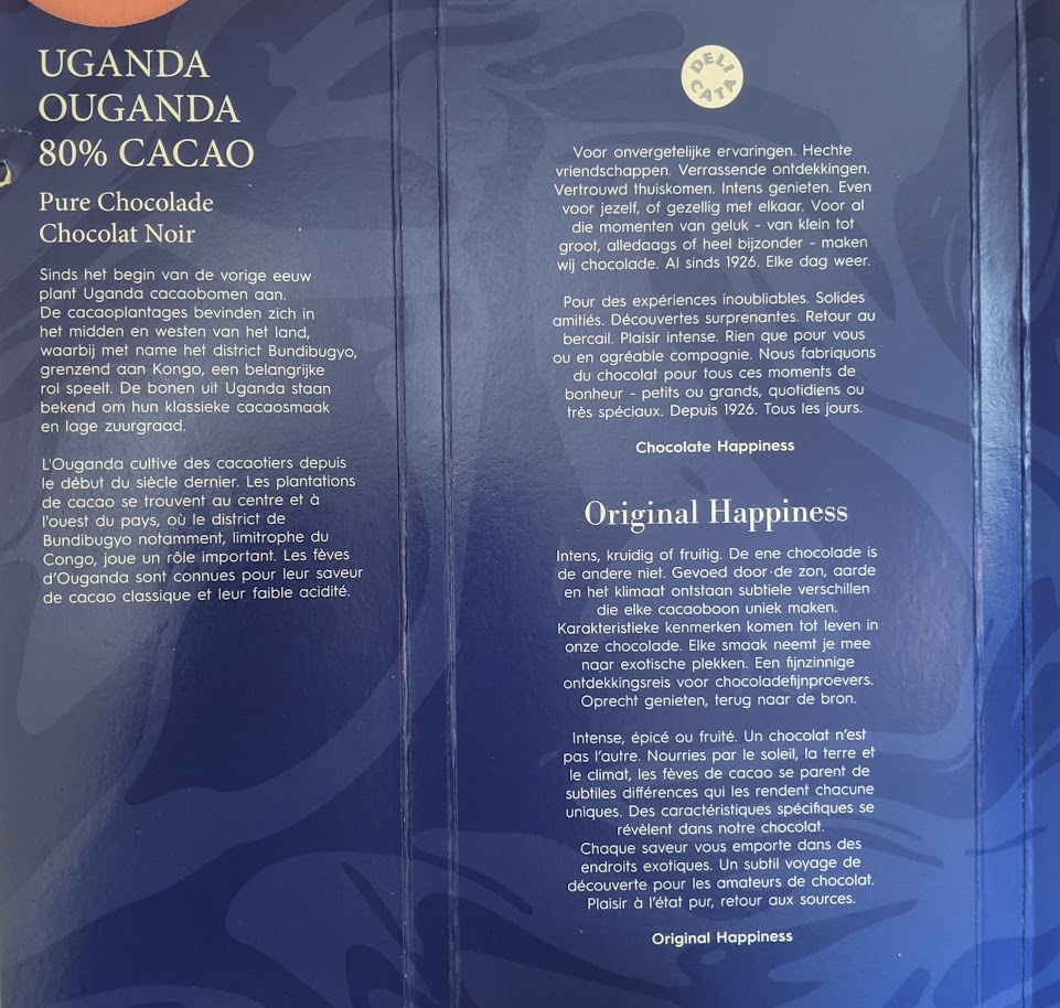 80% original happines uganda bar