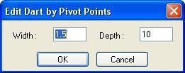 Optitex PDS: Các Lệnh Tạo Pen Và Xếp Ly 6