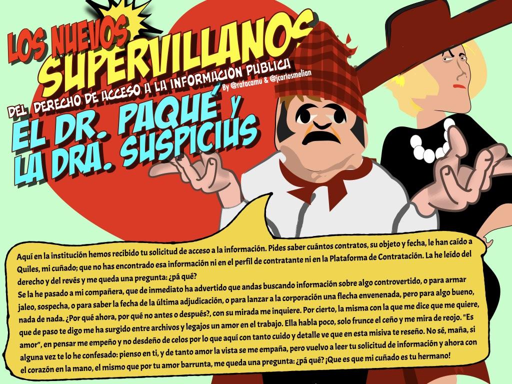 El Dr. Paqué y la Dra. Suspicius. La pregunta inútil y la sospecha | Melián Abogados