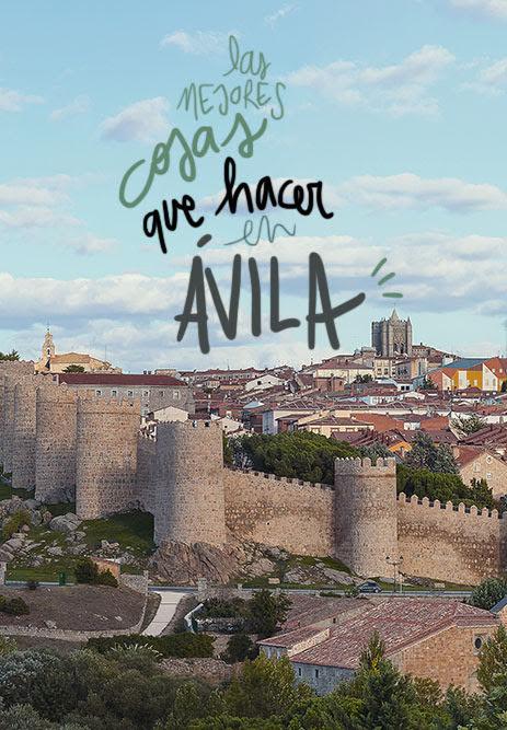 que ver y hacer en Avila