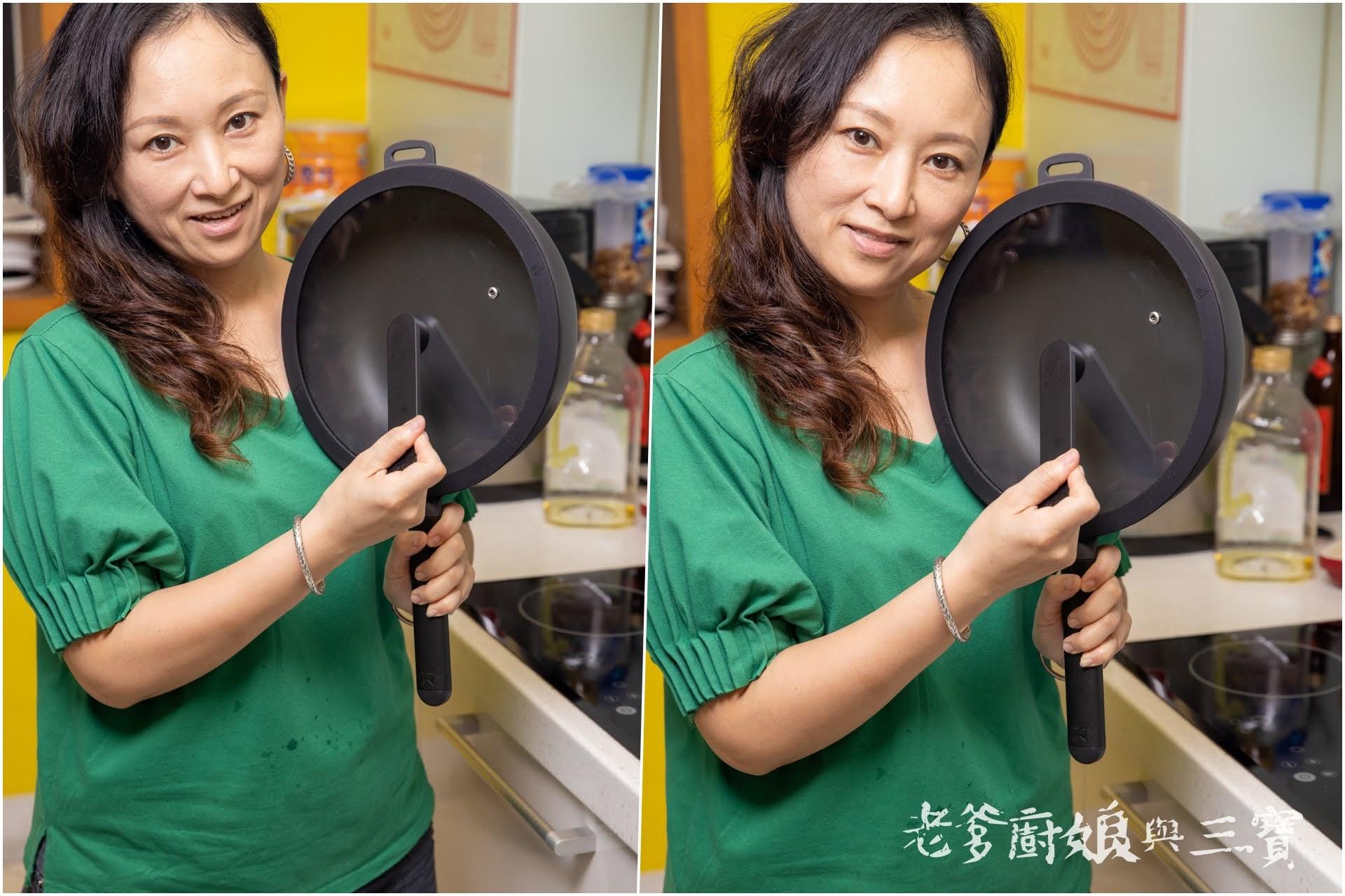第一支MIT專屬於台灣人作菜習慣的無塗層不沾鍋…WOKY恰恰鍋