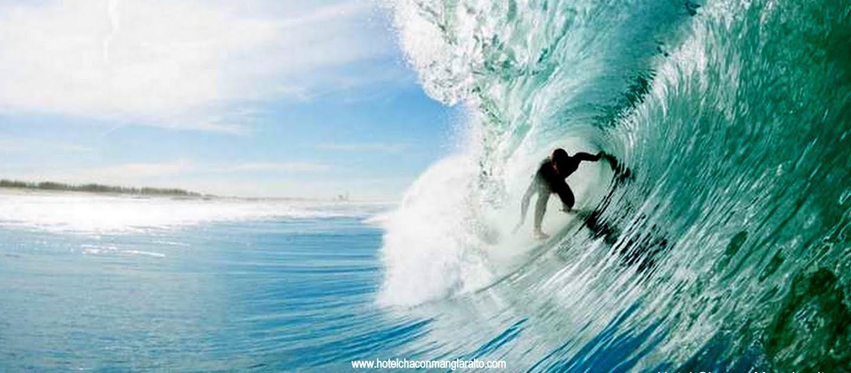 Surf en Hotel Chacon Manglaralto Ecuador