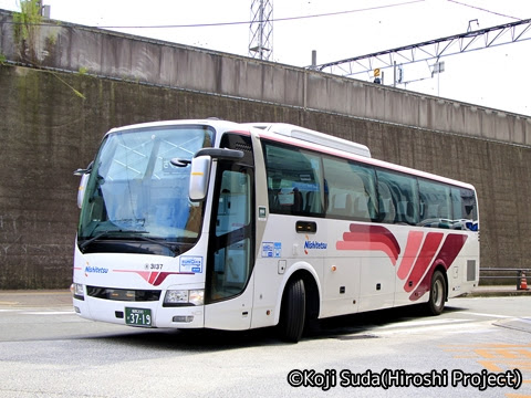 西鉄「桜島号」 3137 博多バスターミナルにて