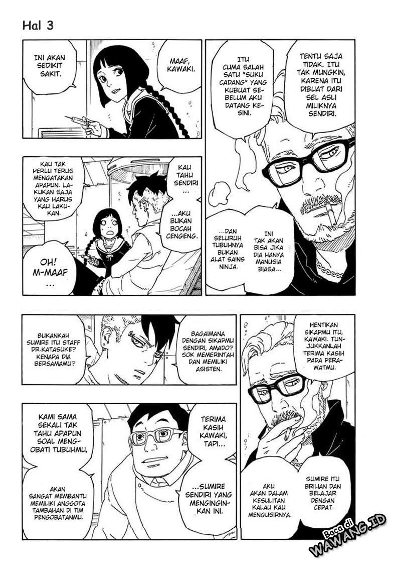 Manga Boruto Chapter 56