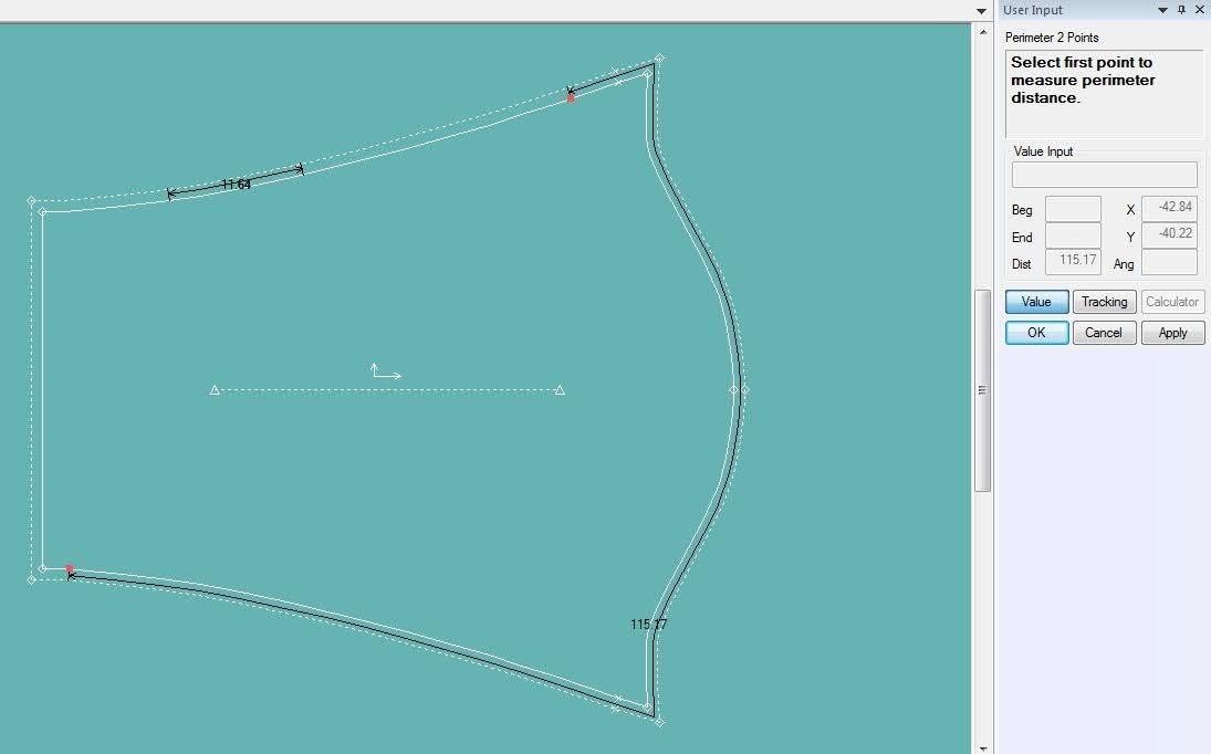 Gerber Pattern Design: Cách Sử Dụng Các Lệnh Đo Thông Số Measure 8