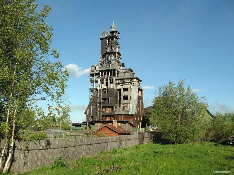 A casa bizarra de Nikolay Sutiaguin