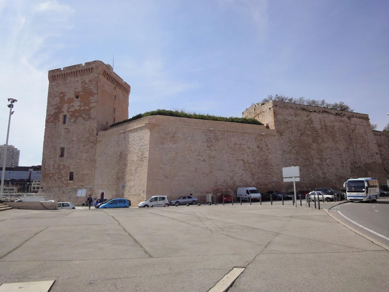Fort Saint Jean à Marseille