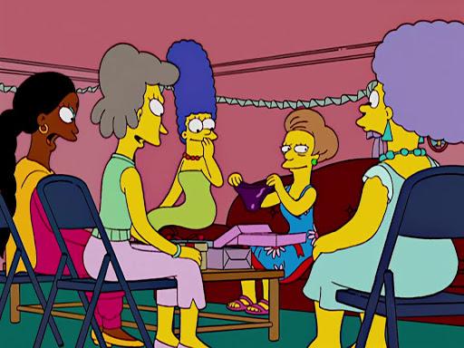 Los Simpsons 15x17 El día de mi boda