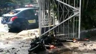 Ledakan di Depan Gereja Katedral Makassar, Diduga Bom Bunuh Diri