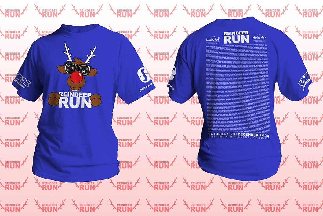 Reindeer Run Names T-Shirt