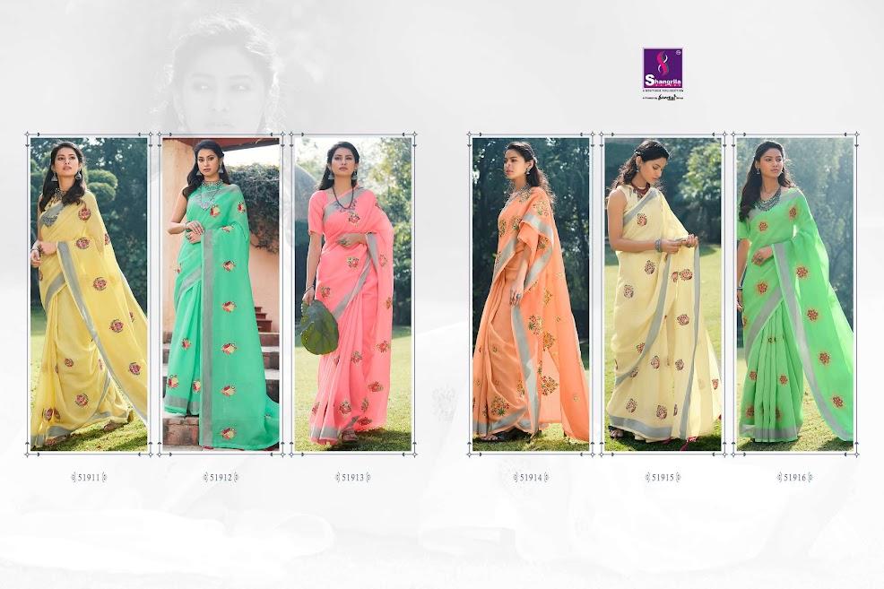 Shangrila Suhani Sarees Catalog Lowest Price