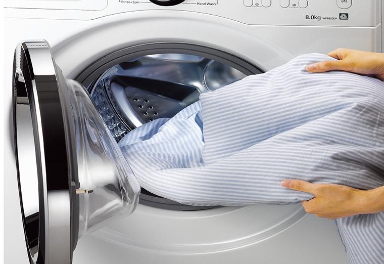 Kiển tra lồng máy giặt