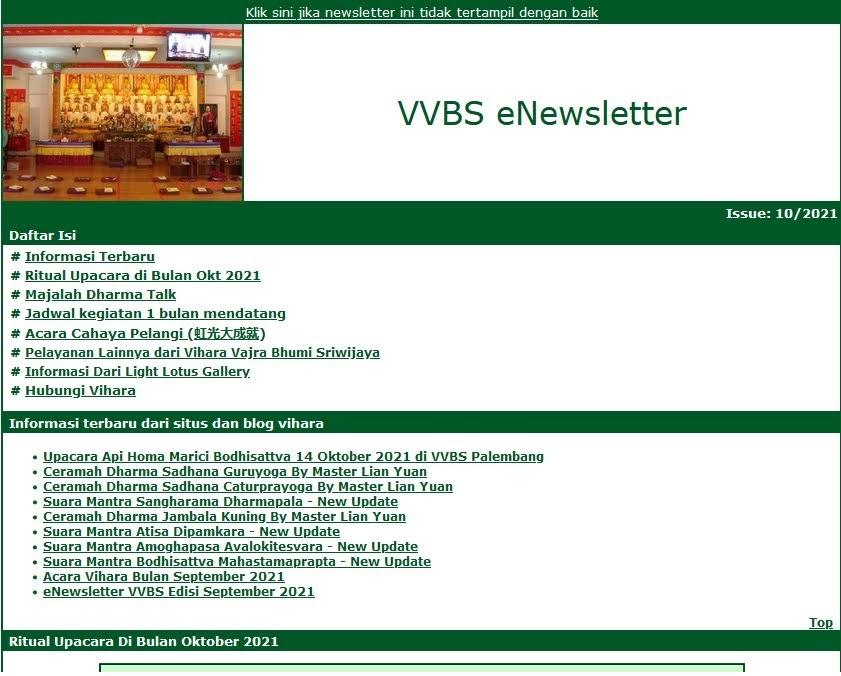 Newsletter Oktober 2021