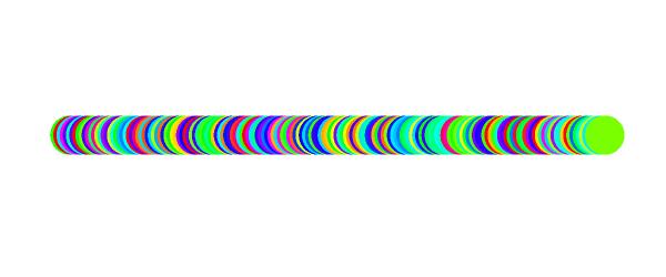 クリスタ「色の変化」(色相ランダム)