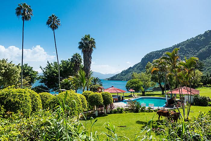 Panajachel, lacul Atitlan