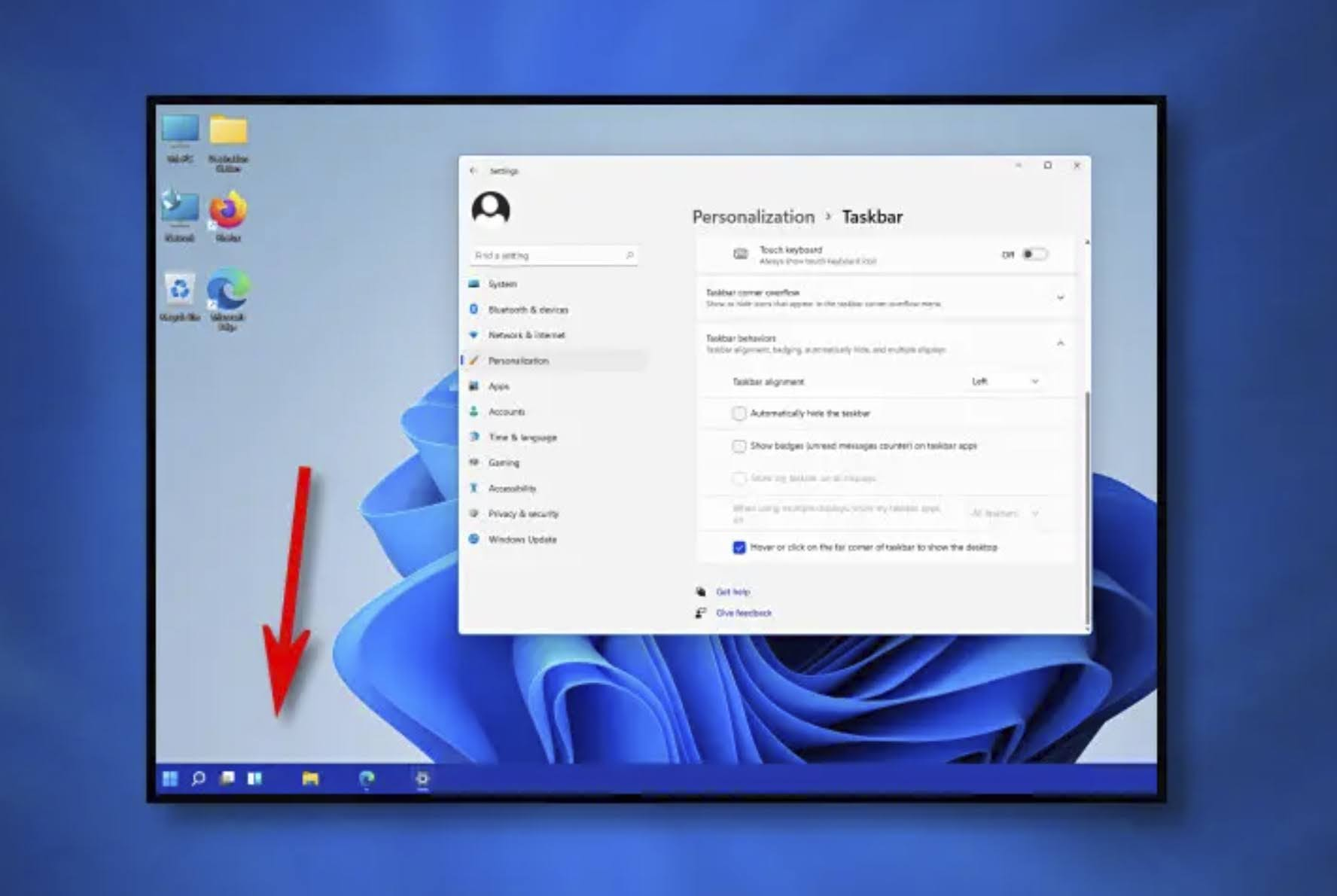 Windows 11: How to Move the Start Button and Taskbar Icons Align to Left