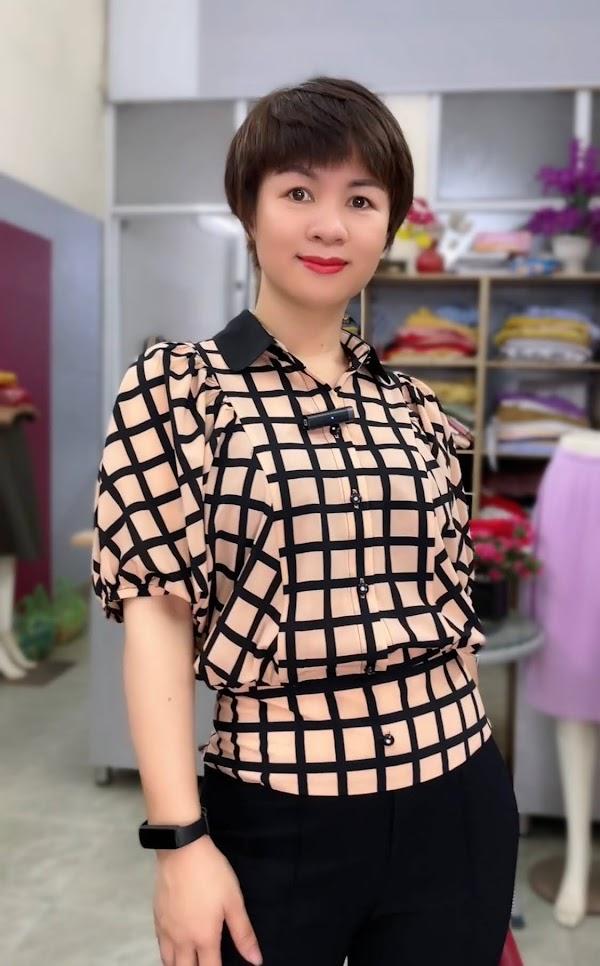 áo sơ mi nữ công sở phối đồ mặc đẹp thời trang thủy hải phòng 2