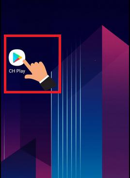 Mở CH Play(Google Play)