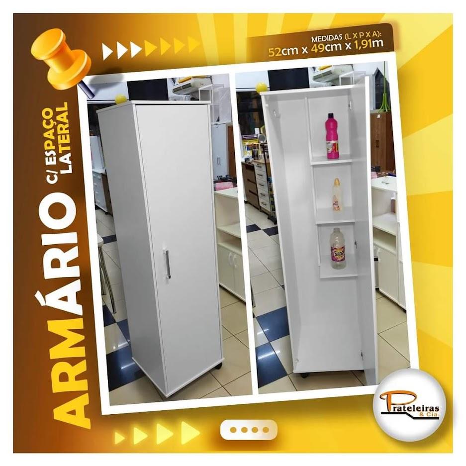 Armário 02 Portas com espaço REF. 17
