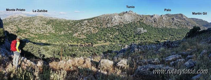 Crestería Sierra de Líbar y Mojón Alto
