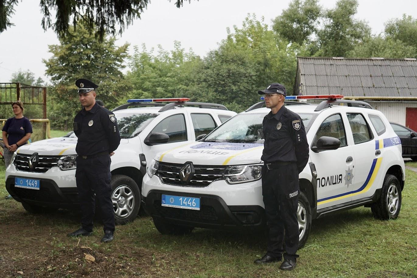 поліцейські громади