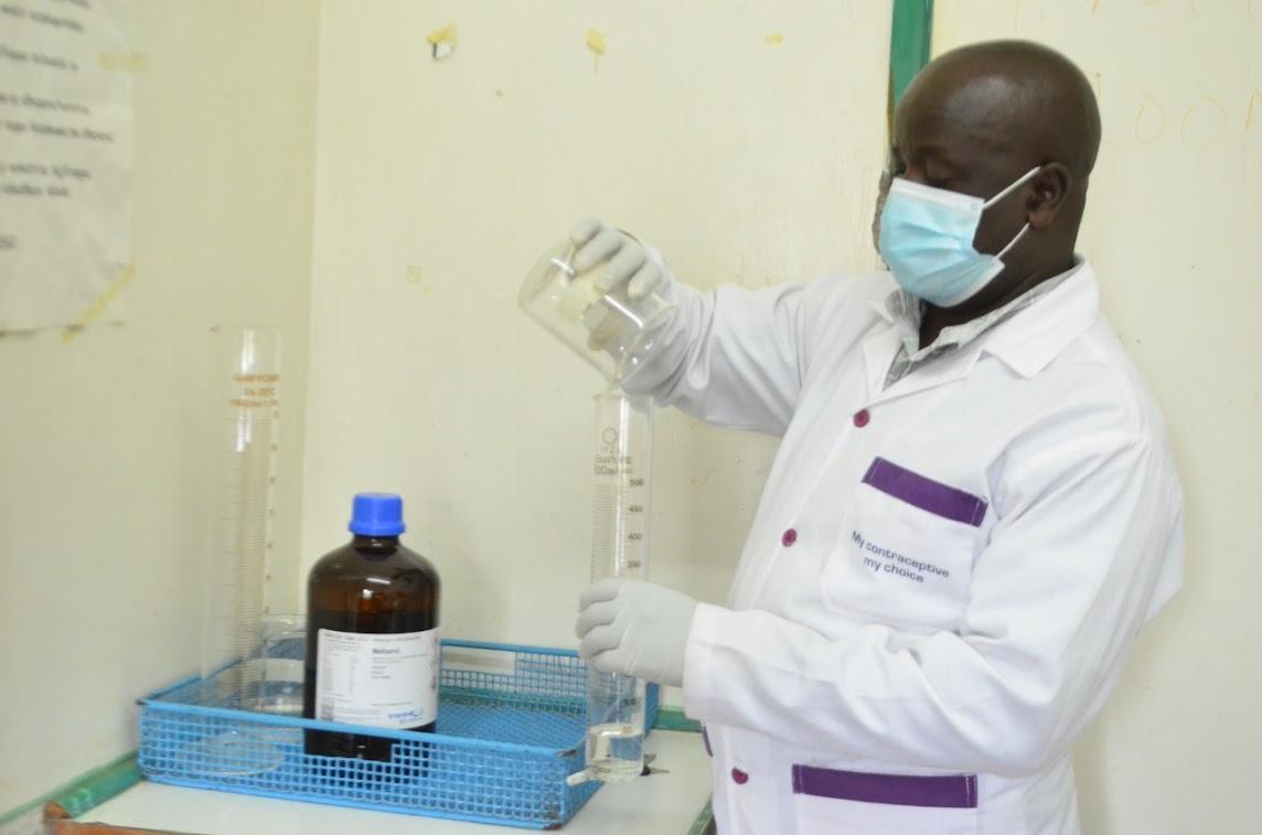 Eldama Ravine Residents Urged to take advantage on Mini Food Laboratory.