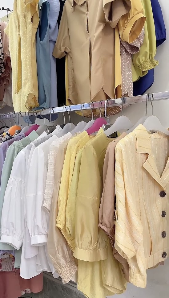 cách chọn vải may áo sơ mi nữ thời trang thủy quảng ninh