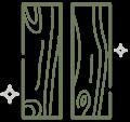 90s免膠科技地板實木質感