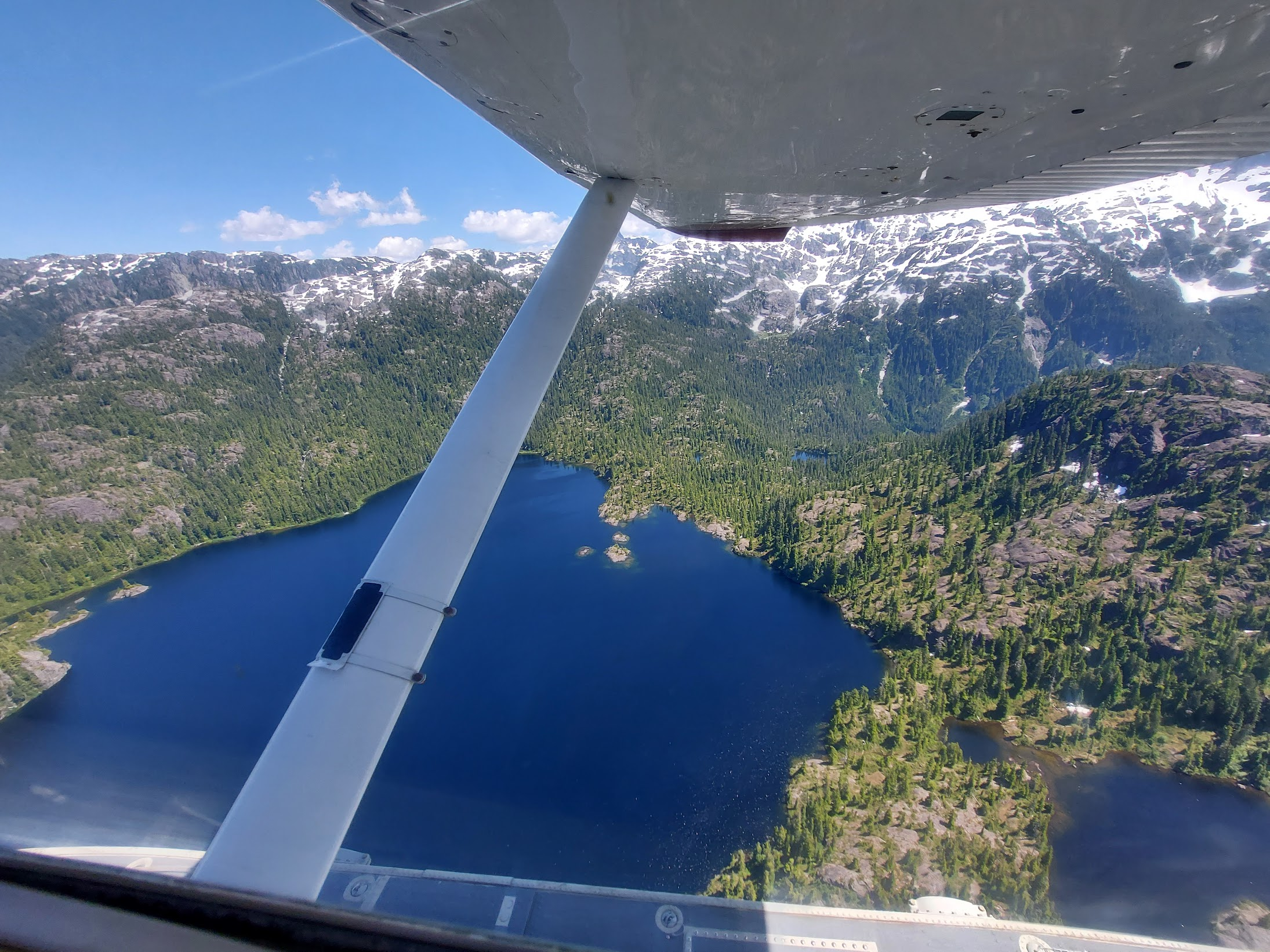 Bedwell Lake from the Float Plane