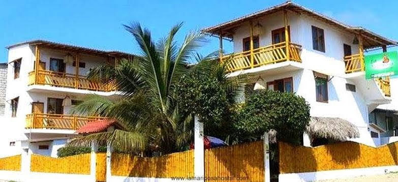 La Mariposa Hostel In Olon, beautiful hostel constructed from bamboo Ecuador