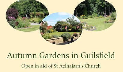 Guilsfield gardens open up this weekend