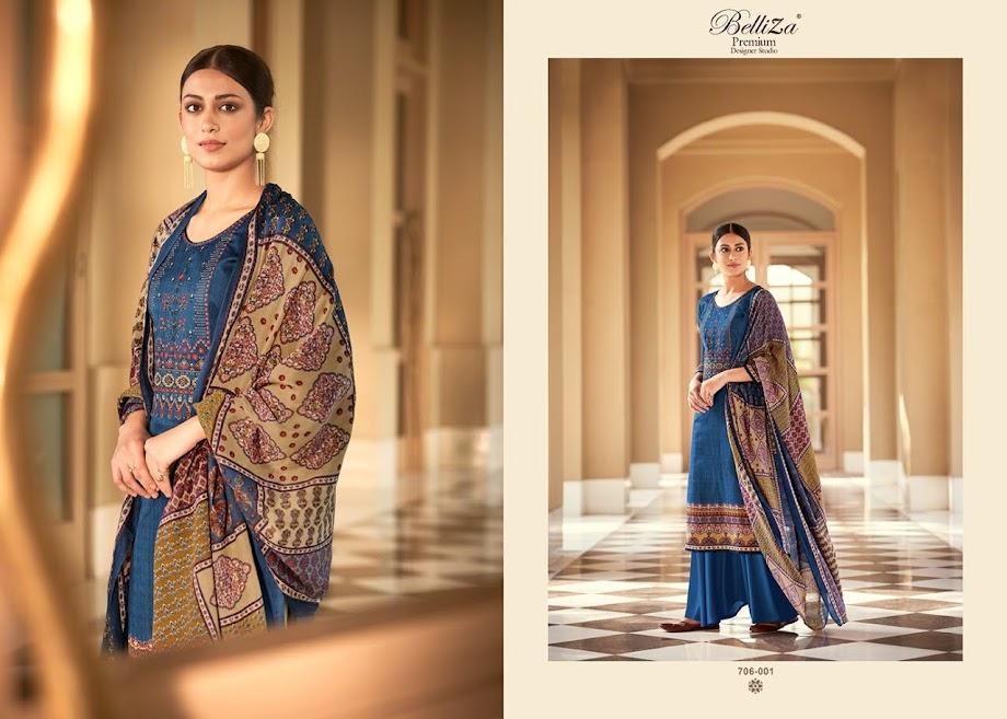 Buy Belliza Designer Studio Rozaan Karachi Unstitched Ladies
