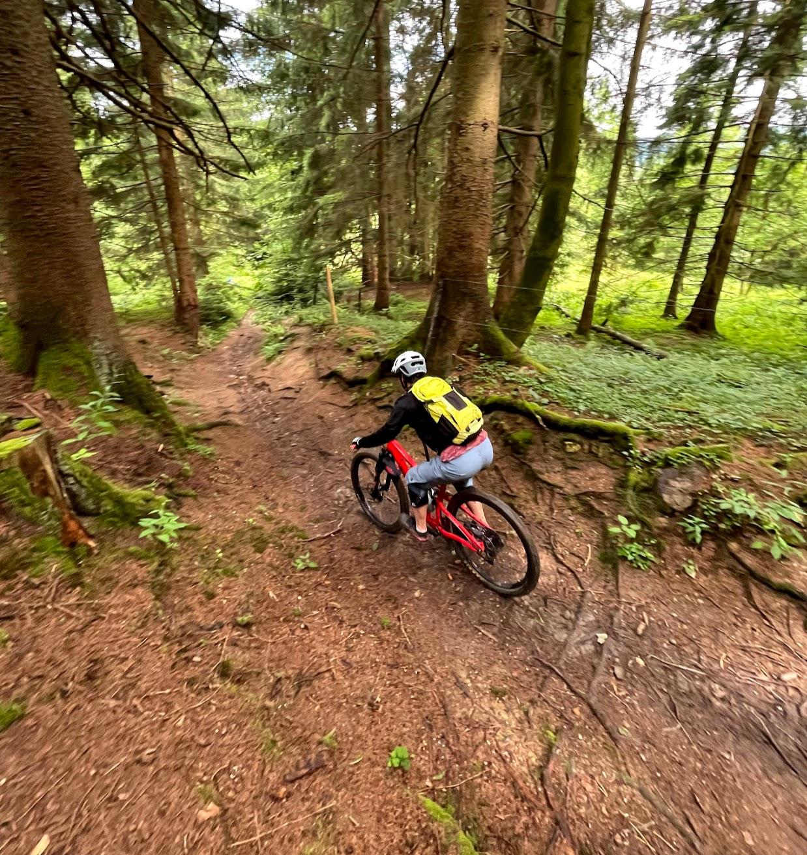 Schliersee: Huberspitz trails mtb - June 21