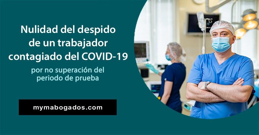 Nulidad del despido de un trabajador contagiado del COVID-19 | Melián Abogados