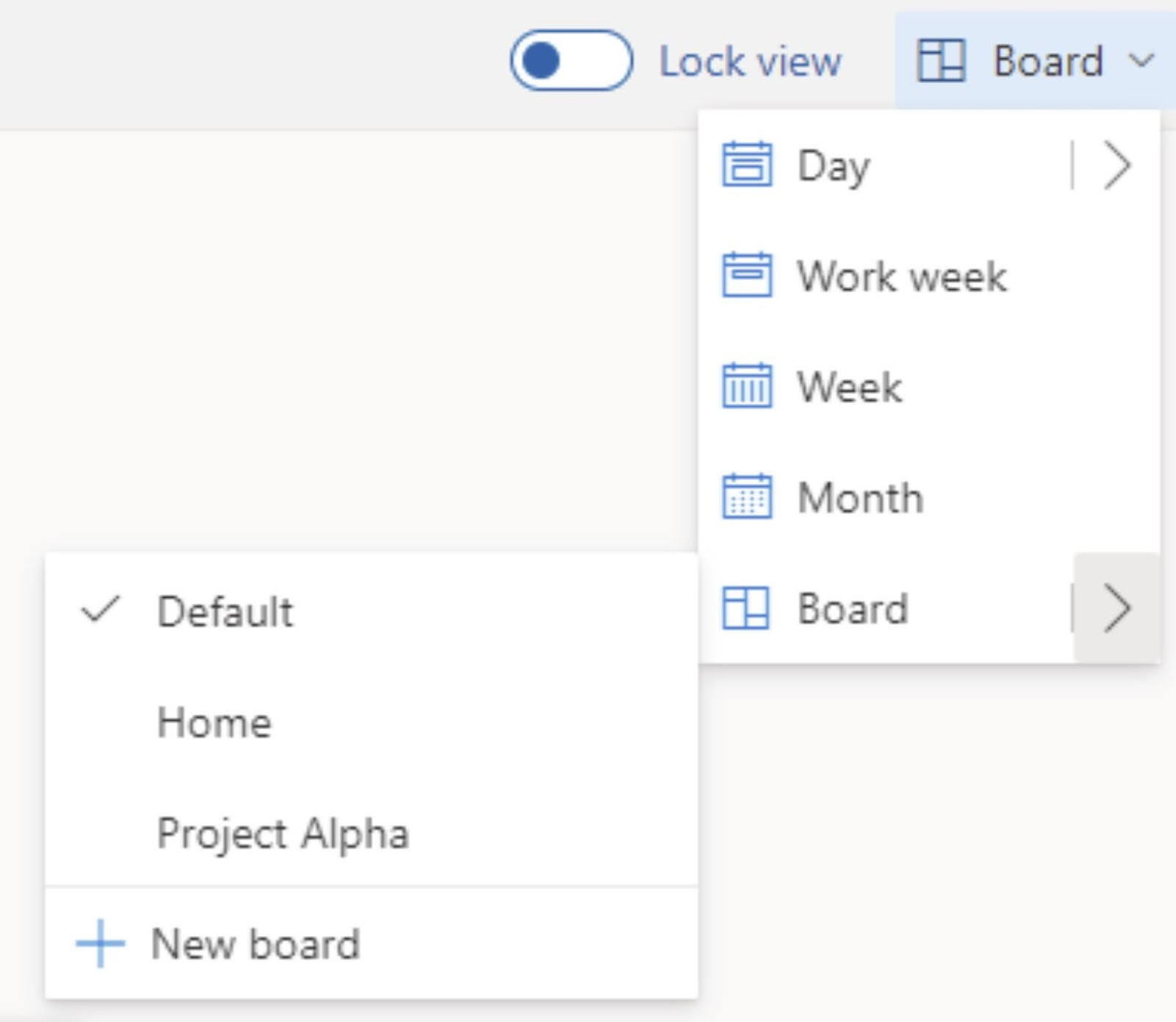MC271629: Outlook on the web: Project Moca migrating to Outlook board view. Just open the model switcher dropdown to view all your existing boards.