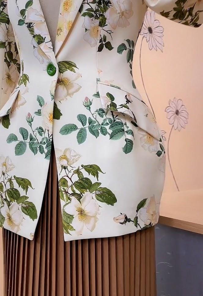 áo vest nữ dáng eo thiết kế phồng hông mặc đẹp thời trang thủy kiến an