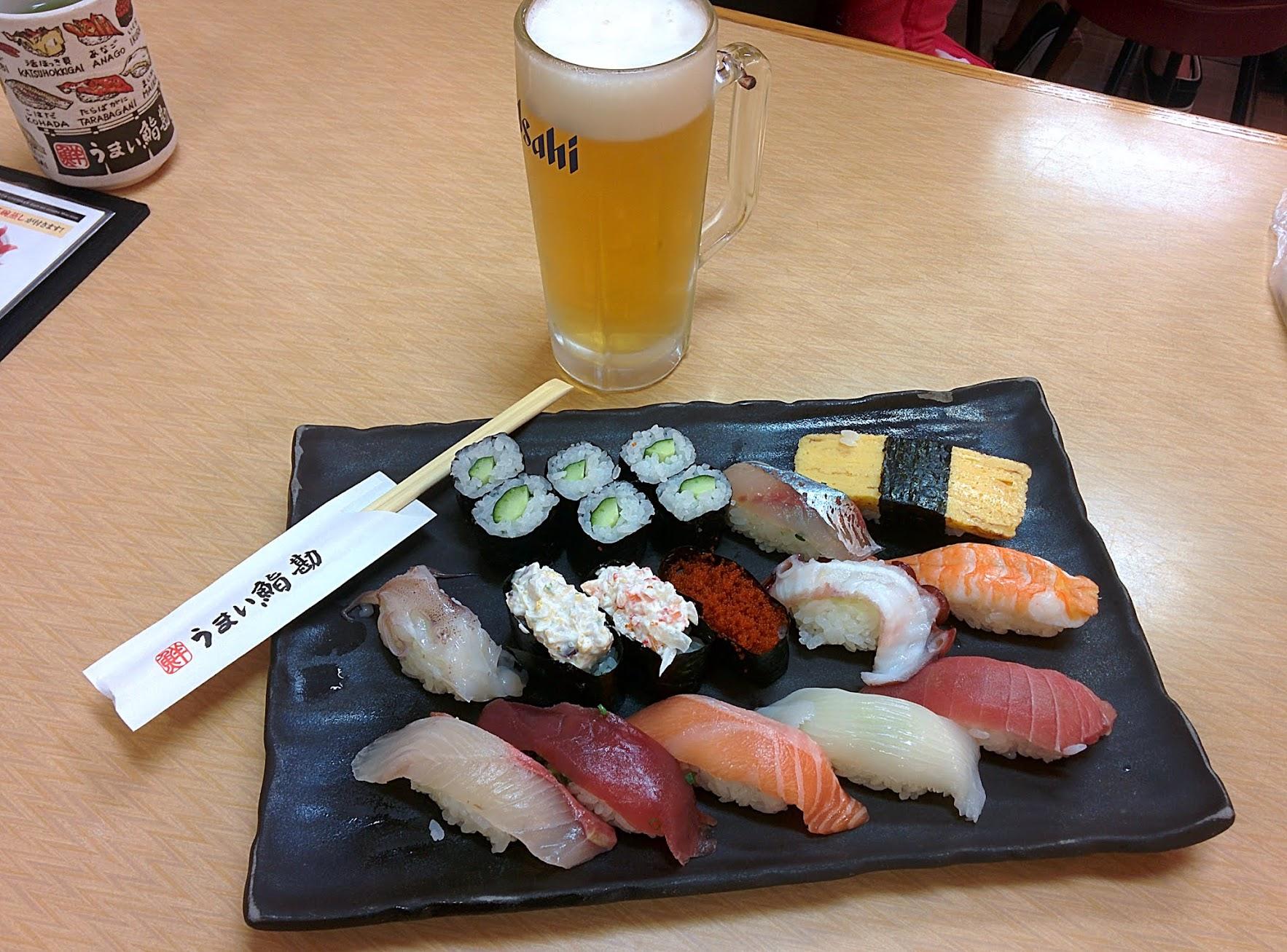 Sushi en Tsukiji